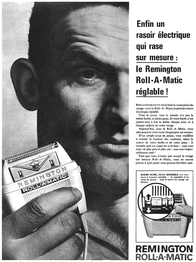 Publicité Remington 1960