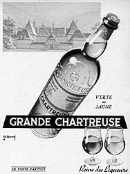 Marque Chartreuse 1954