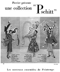 Marque Perrier 1954