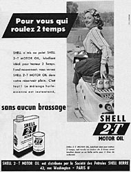 Marque Shell 1954