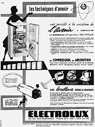 Marque Electrolux 1957