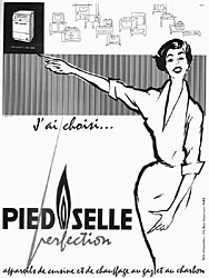 Marque Pied Selle 1955