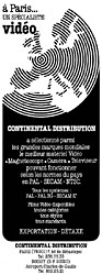 Marque Continental Distribution 1980