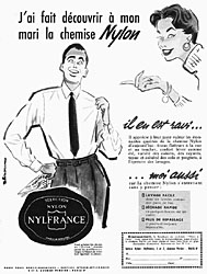 Marque Nylfrance 1954