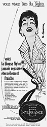 Marque Nylfrance 1955