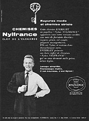 Marque Nylfrance 1957