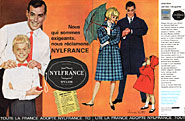 Marque Nylfrance 1961