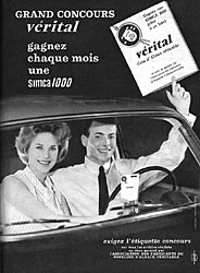 Marque Popeline d'Alsace 1962