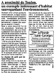 Marque Programmes Immobiliers 1977