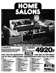 Marque Home Salons 1980