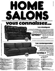 Marque Home Salons 1984