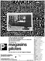 Marque Magasin Pilote 1964