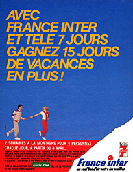 Marque France Inter 1985