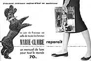 Marque Marie Claire 1954