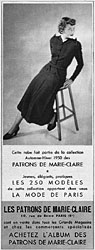Marque Marie Claire 1949