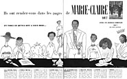 Marque Marie Claire 1956