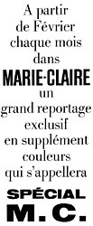 Marque Marie Claire 1964
