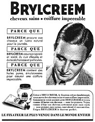 Marque Brylcreem 1952