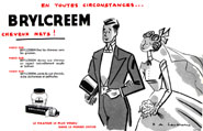 Marque Brylcreem 1954