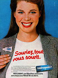 Marque Pepsodent 1979